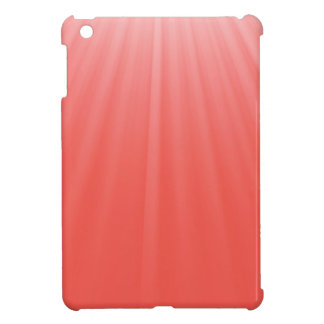 red rays iPad mini cover