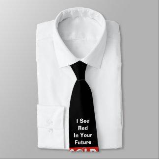 Red Real Estate Sold Sign Black Tie