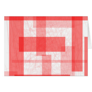 Red Rectangle Background Card