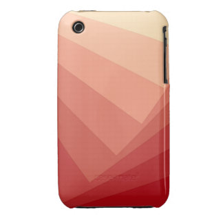 Red Rectangles in Gradient iPhone 3 Case