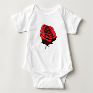 Red, Red Rose Infant Onsies / Creepers Baby Bodysuit