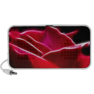 Red Red Rose Travelling Speakers