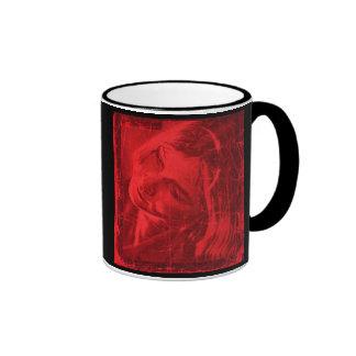 Red Reflections Mug II - Customizable Mug