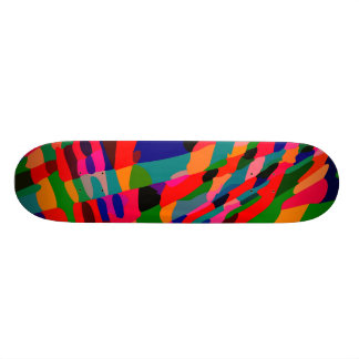 Red RefleXion - 2 Custom Skateboard