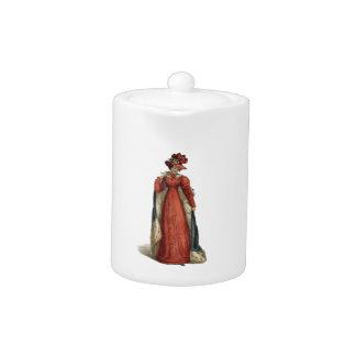 Red Regency Lady
