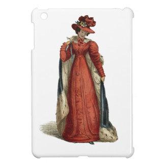 Red Regency Lady iPad Mini Case