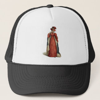 Red Regency Lady Trucker Hat