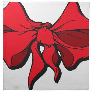Red Ribbon Napkin