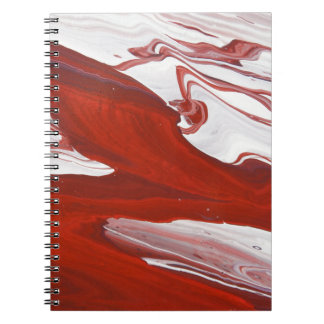 Red Ribbon Notebook