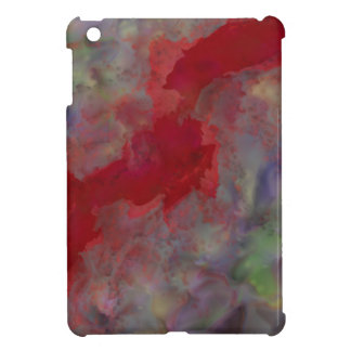 Red Ribbon of Fate Abstract Impressionism Case For The iPad Mini