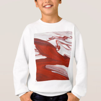 Red Ribbon Sweatshirt