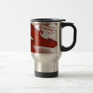 Red Ribbon Travel Mug
