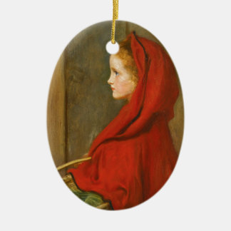 Red Riding Hood by Millais Ornament