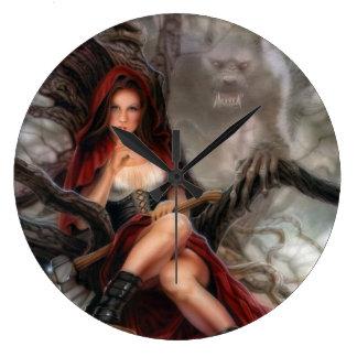 Red Riding Hood Clock! Large Clock