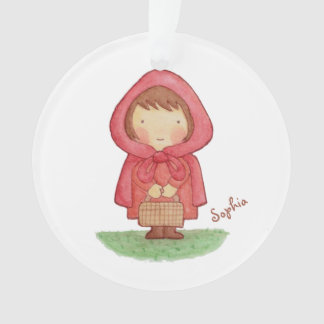 Red Riding Hood Girls Room Personalized Ornament