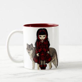 """Red Riding Hood in Autumn"" Mug"