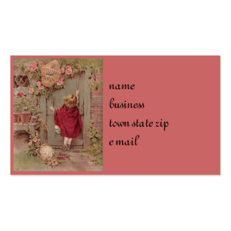 Red Riding Hood Knocks on the Door Pack Of Standard Business Cards