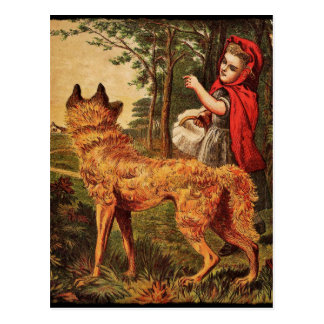 Red Riding Hood Postcard
