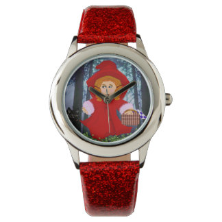 Red Riding Hood Wrist Watch