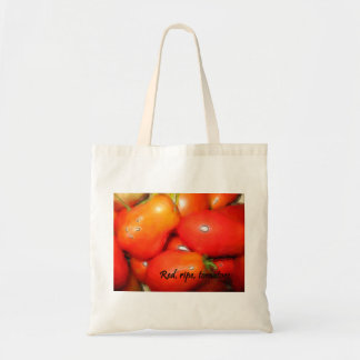 Red, Ripe, Tomatoes Tote Bag