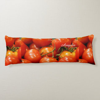 Red Ripe Tomatoes Body Cushion