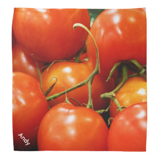 Red Ripe Tomatoes Head Kerchief