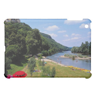 Red River Dordogne with cafe, France flowers Case For The iPad Mini