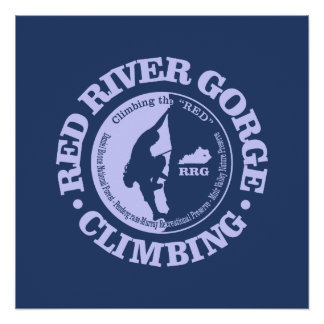 Red River Gorge (Climbing) Poster