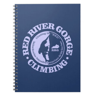 Red River Gorge (Climbing) Spiral Notebook