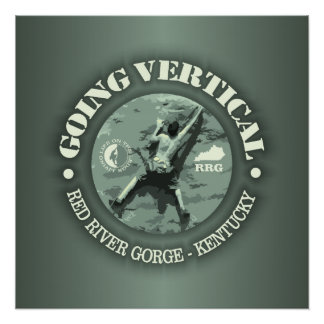 Red River Gorge (Going Vertical) Poster