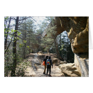 Red River Gorge, KY - Skybridge 2 notecards Card