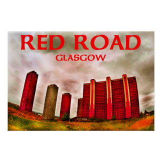 red road glasgow poster