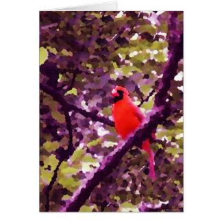 """Red Robin"" - Card"