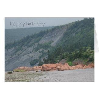 Red Rock Birthday Card