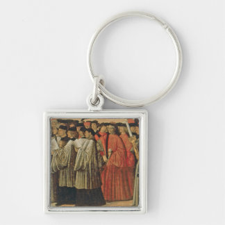 Red rock, c.1895 (oil on canvas) 2 key chain