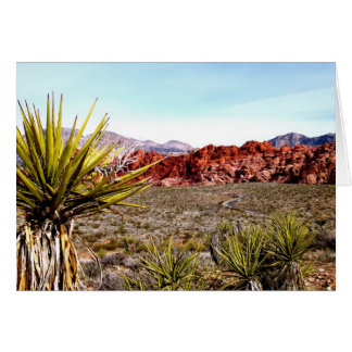 Red Rock Canyon card