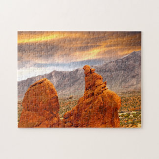 Red Rock Canyon  Nevada. Jigsaw Puzzle