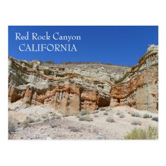 Red Rock Canyon Postcard! Postcard