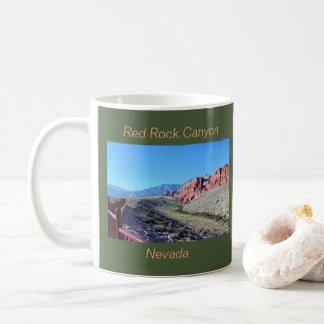 Red Rock Canyon Rock Formation Coffee Mug