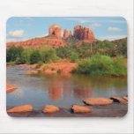 Red Rock Crossing mousepad