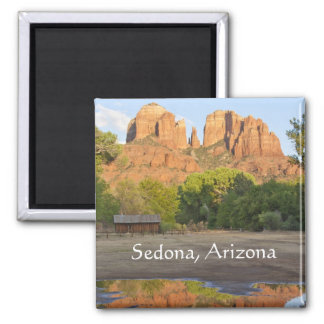 Red rock crossing Sedona,Arizona Magnet