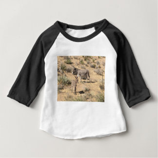 Red rock state park nv donkey baby T-Shirt