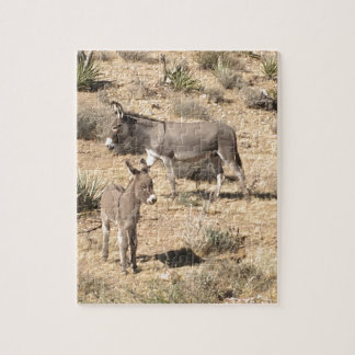 Red rock state park nv donkey jigsaw puzzle