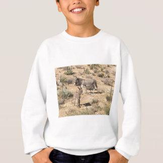 Red rock state park nv donkey sweatshirt