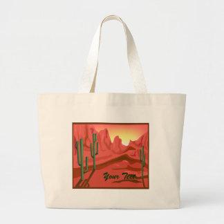 Red Rock Sunset Arizona Canvas Bag