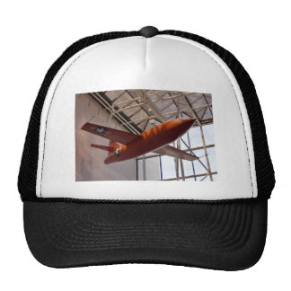 Red rocket airforce plane in show hats