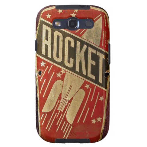 RED ROCKET. SAMSUNG GALAXY S3 COVERS
