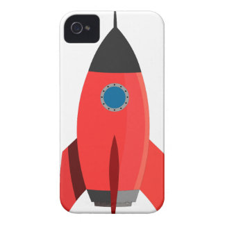 Red Rocket iPhone 4 Case-Mate Case
