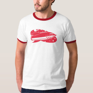 red rocket retro 2 T-Shirt