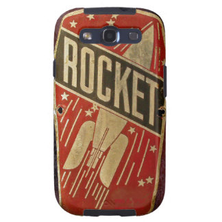 RED ROCKET SAMSUNG GALAXY S3 COVERS